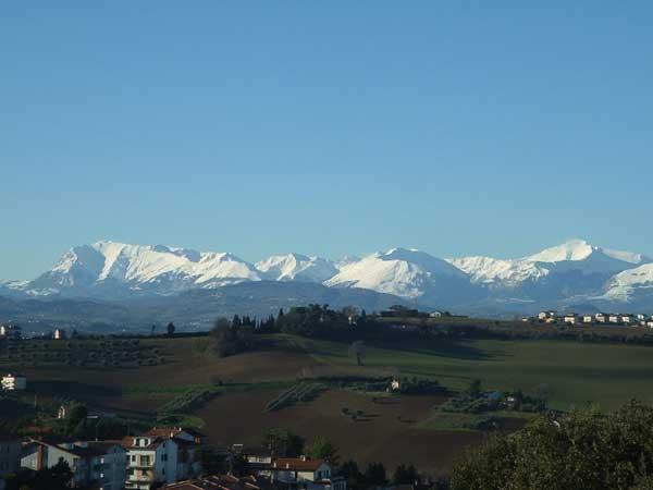 Monti Sibillini Visti da Fermo