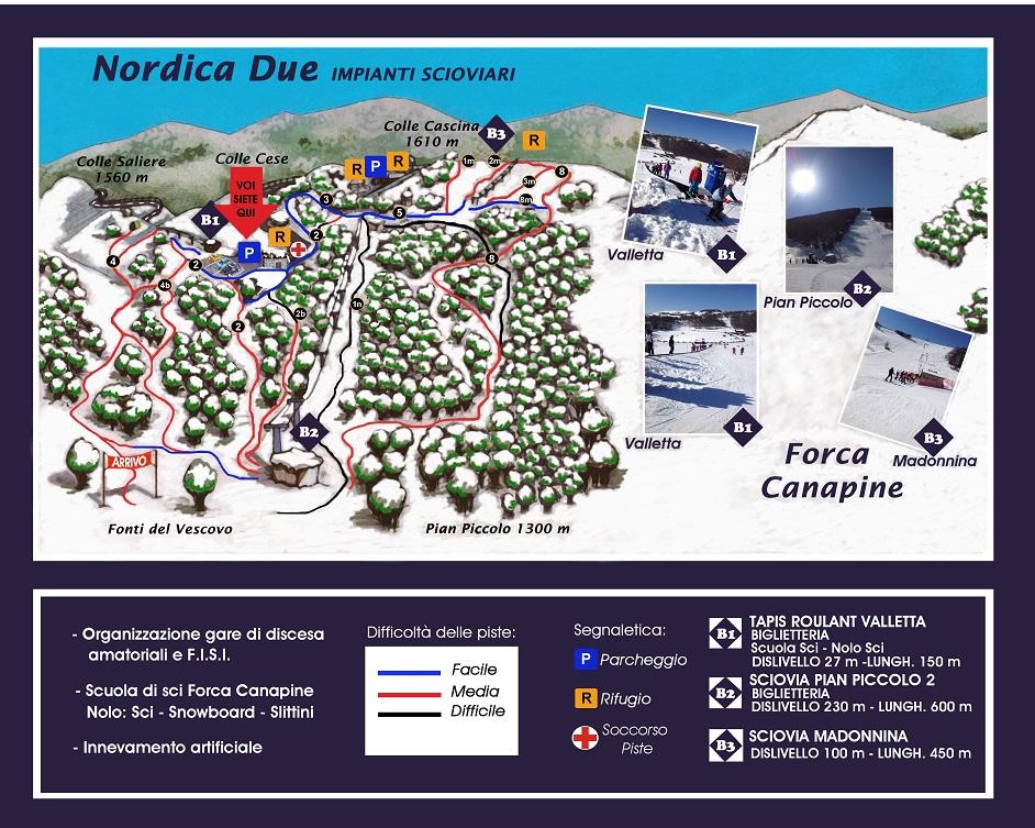 Impianti di Forca Canapine sui Monti Sibillini2