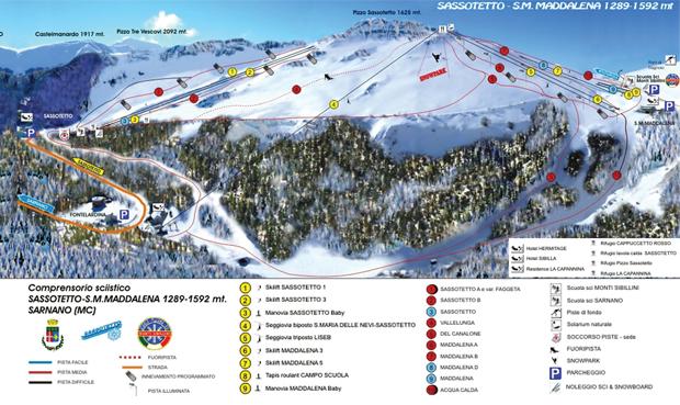 Impianti di Sassotetto-di-Sarnano-sui-Monti-Sibillini