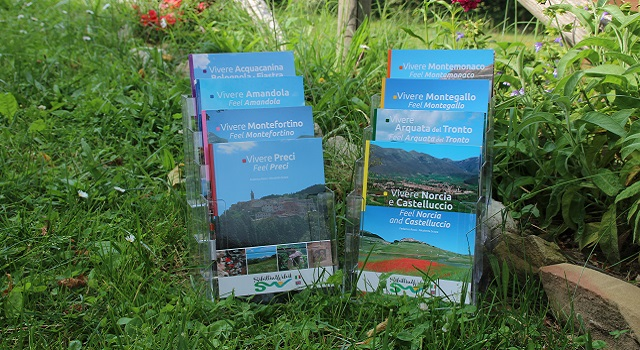 Libri Turistici Vivere i Monti Sibillini