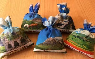 Sacchetti di Lavanda a tema Monti Sibillini