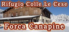 Rifugio Colle Le Cese a Forca Canapine sui Monti Sibillini