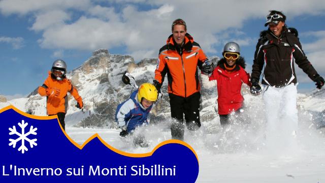 Inverno e neve sui Monti Sibillini