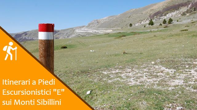Sentieri Escursionistici Trekking ad Anello sui Monti Sibillini