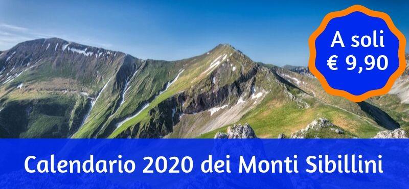 Calendario 2020 dei Monti Sibillini