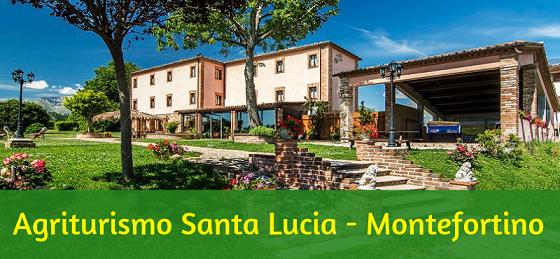 Agriturismo Santa Lucia dei Sibillini a Montefortino
