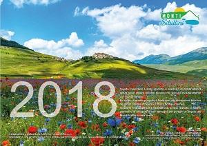 Calendario 2018 dei Monti Sibillini