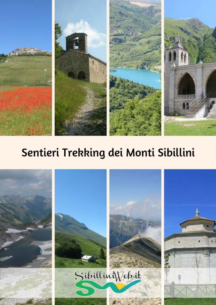 Sentieri Trekking dei Monti Sibillini