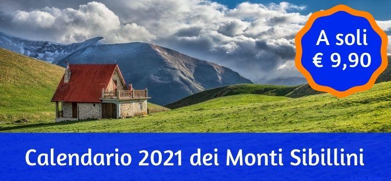 Calendario 2021 dei Monti Sibillini