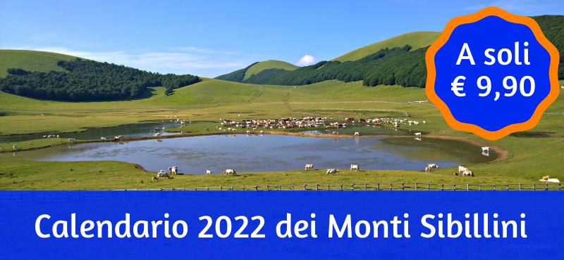 Calendario 2022 dei Monti Sibillini